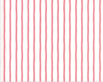 Lollipop Garden Handmade Stripe - Raspberry - Lollipop Garden by Lella Boutique - (5086 11)