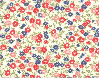 Early Bird Cream Rosie by Bonnie & Camille for Moda Fabrics (55194 17) - Cut Options Available