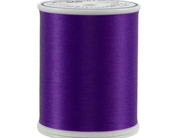 606 Dark Purple - Bottom Line 1,420 yd spool by Superior Threads