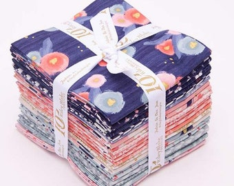 Midnight Rose Fat Quarter Bundle (21 pieces) by Riley Blake Designs (FQ-8650-21) FQ Bundle