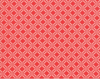 Early Bird Tonal Red Check by Bonnie & Camille for Moda Fabrics (55193 21) - Cut Options Available