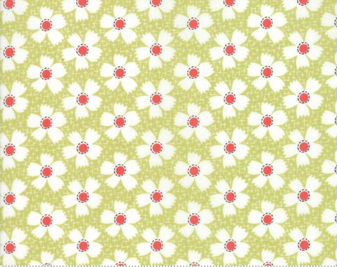 Farmhouse II (20323 17) Meadow Daisies Gingham by Fig Tree & Co.