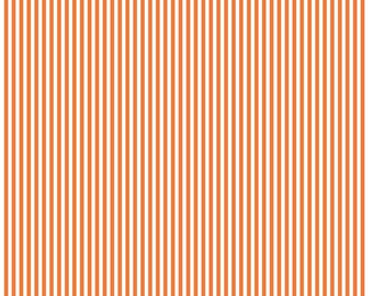 Riley Blake Designs, 1/8 Inch Stripe in Orange (C495)