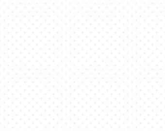 Riley Blake Designs, Swiss Dot in Tone on Tone White (C790 150)