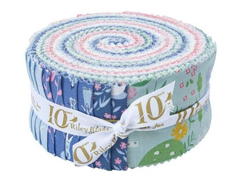 Pemberley Rolie Polie by Citrus & Mint Designs for Riley Blake Designs (RP-8820-40) - Jelly Roll