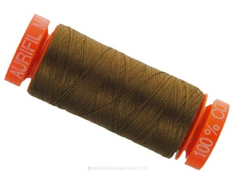MK50 2372 - Aurifil Dark Antique Cotton Thread