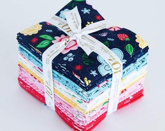Flutter and Shine Fat Quarter Bundle by Melanie Collette for Riley Blake Designs - Precut Fabric - FQ Bundle