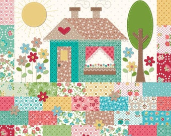 Granny's House Pillow Kit by Lori Holt (Bee in My Bonnet) For Riley Blake PRESALE