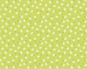 Glamper-licious, By Samantha Walker Glamper Daisy Green C6315-Green - Fat Quarter