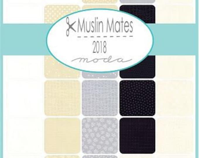 Moda Scrap Bag - Muslin Mates fabric by Studio M for Moda