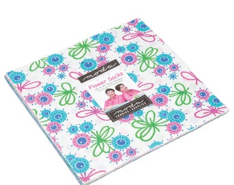 IN STOCK: Flower Sacks Layer Cake by Me and My Sister -  (22350LC)