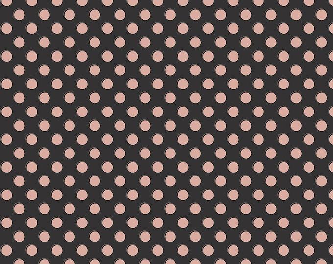 Bliss Black Sparkle Dots by My Mind's Eye for Riley Blake Designs (SC8163-BLACK)
