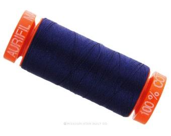 MK50 2784 - Aurifil Dark Navy Cotton Thread