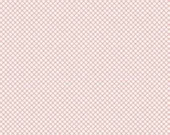 Bunnies and Cream, By Lauren Nash Bunnies Gingham Pink C6025-Pink