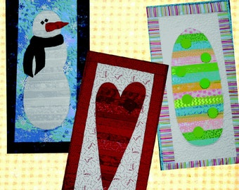 Seasonal Skinnies 2 by Ribbon Candy Quilt (RCQ 508)