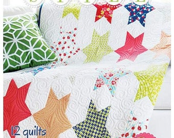Fat Quarter Style Book by It's Sew Emma (ISE-904) - Includes instructions for 12 Fat Quarter Quilts in four sizes!