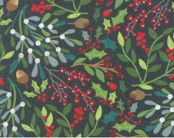 Kringle Claus - Festival - Juniper - (30590 17) - BasicGrey Kringle Claus for Moda Fabrics -  Cotton Quilting Fabric - Kringle Klaus