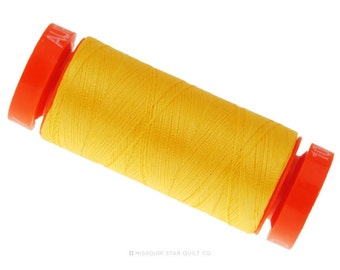 MK50 1135 - Aurifil Pale Yellow Cotton Thread