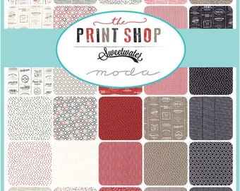 Sweetwater Print Shop Half Yard Bundle - 34 Half Yard Cuts