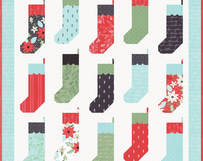 By the Chimney Quilt Pattern by Lella Boutique (LB-145) - F8 friendly