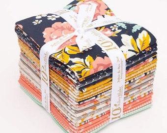 Fat Quarter Bundle Golden Days by Fancy Pants Design for Riley Blake Designs - FQ Bundle - Precut Fabric - 21 FQs