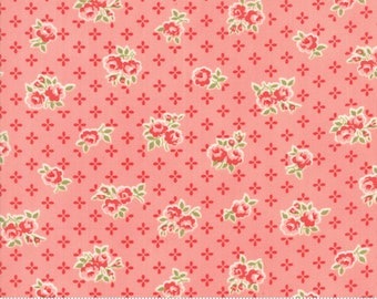 Early Bird Pink Sweet by Bonnie & Camille for Moda Fabrics (55191 13) - Cut Options Available