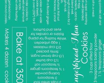 Cozy Christmas Cozy Recipe Teal (C5361-Teal)