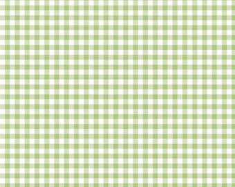 Lori Holt Green Gingham for Riley Blake Designs (C6988-GREEN) - Cut Options Available