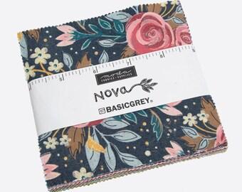 Nova by BasicGrey Charm Pack (30580PP) BasicGrey Nova for Moda Fabrics
