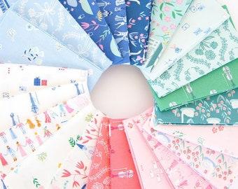 Pemberley Fat Quarter Bundle by Citrus & Mint Designs - Riley Blake Designs - FQ Bundle  - 21 Fat Quarters (FQ-8820-21)