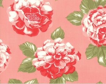 Early Bird Pink Blooms by Bonnie & Camille for Moda Fabrics (55190 13) - Cut Options Available