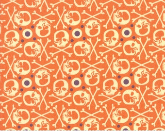 BasicGrey Hallo Harvest Maple RIP (30603 14)  by BasicGrey for Moda - Halloween Fabric - Cotton Quilting Fabric