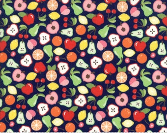 Orchard Bounty - Blueberry - April Rosenthal Orchard for Moda Fabrics (24071 15)