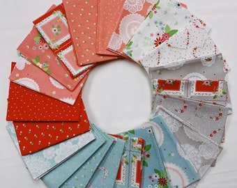 Vintage Keepsakes Fat Quarter Bundle by Beverly McCullough of Flamingo Toes for Riley Blake Designs - FQ Bundle