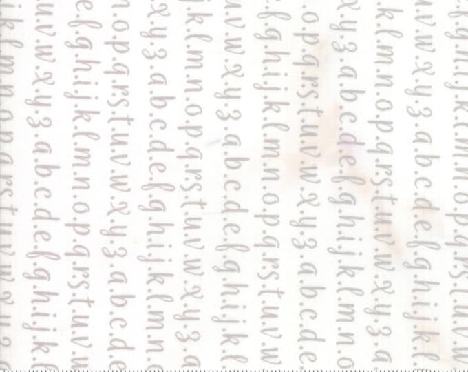 Strawberry Jam Cloud Dusk Alphabet by Corey Yoder (Little Miss Shabby) for Moda (29065 21)