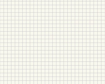Ruby Star Society Anagram Grid Cloud by Kimberly Kight - (RS3005 12) - White Fabric - Basic Fabric