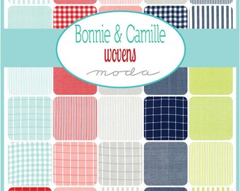 Wovens by Bonnie & Camille - Half Yard Bundle- 30 SKUs - PREORDER - Bonnie and Camille Wovens