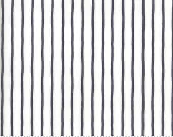 "Lollipop Garden Handmade Stripe - Cloud Chalkboard - Lollipop Garden by Lella Boutique - (5086 21) - 21"" remnant"