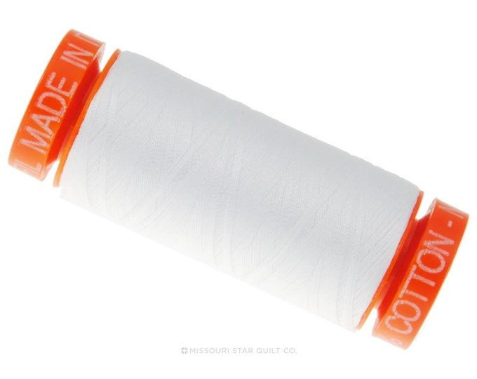 MK50 2024 - Aurifil White Cotton Thread