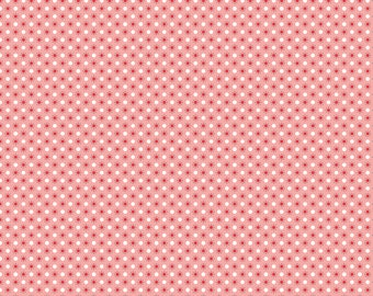 Autumn Love by Lori Holt Polka Dots Pink (C7367-PINK)