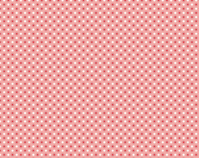 Autumn Love by Lori Holt Polka Dots Pink (C7367-PINK)