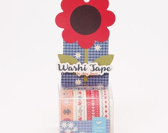 Washi Tape by Amy Smart (Diary of a Quilter) for Riley Blake Designs - 4 rolls, each 10 yards (ST-11344)
