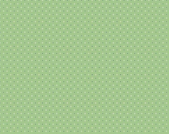 Farm Girl Vintage Calico Green by Lori Holt (Bee in My Bonnet) (C7884-GREEN)
