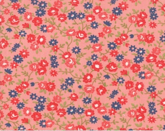 Early Bird Pink Rosie by Bonnie & Camille for Moda Fabrics (55194 13) - Cut Options Available