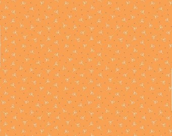 Farm Girl Vintage Seedling Orange by Lori Holt (Bee in My Bonnet) (C7880-ORANGE)
