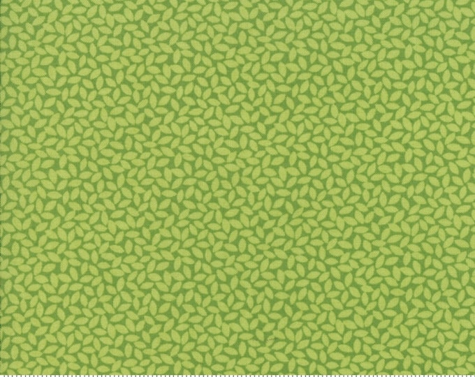 Orchard Leaves - Lime - April Rosenthal Orchard for Moda Fabrics (24076 15)