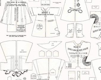 Paperdoll Off White Clothes  (C7568-OFFWHITE) by J. Wecker Frisch of Joy Studio