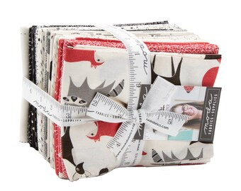 Bramble Fat Quarter Bundle by Gingiber (48270AB) 22 FQ's - Animal Fabric