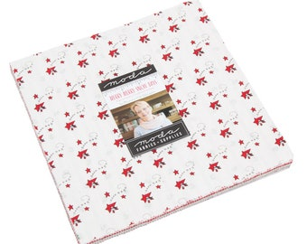 Merry Merry Snow Days by Bunny Hill Designs - Layer Cake - (2940LC) - for Moda fabrics