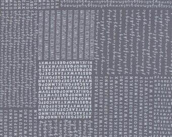 Harmony (5690 16) Dark Rain Alphabet by Sweetwater